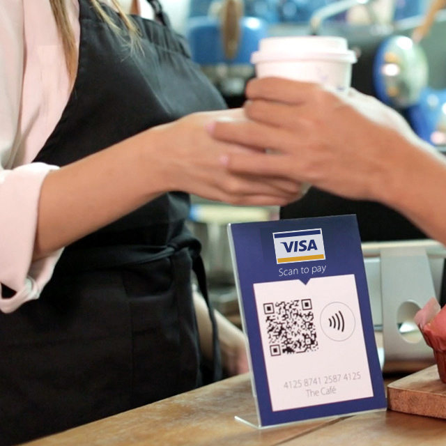 Scan to pay QR code