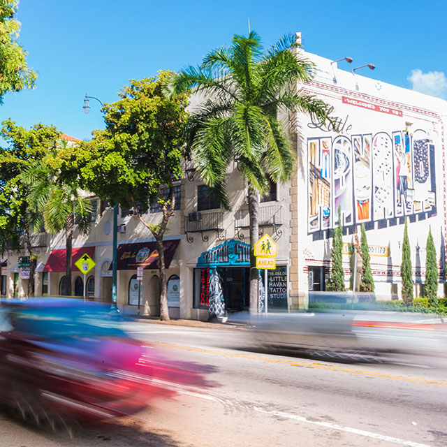Calle, Ocho, Miami, Cuban, Historic, Music