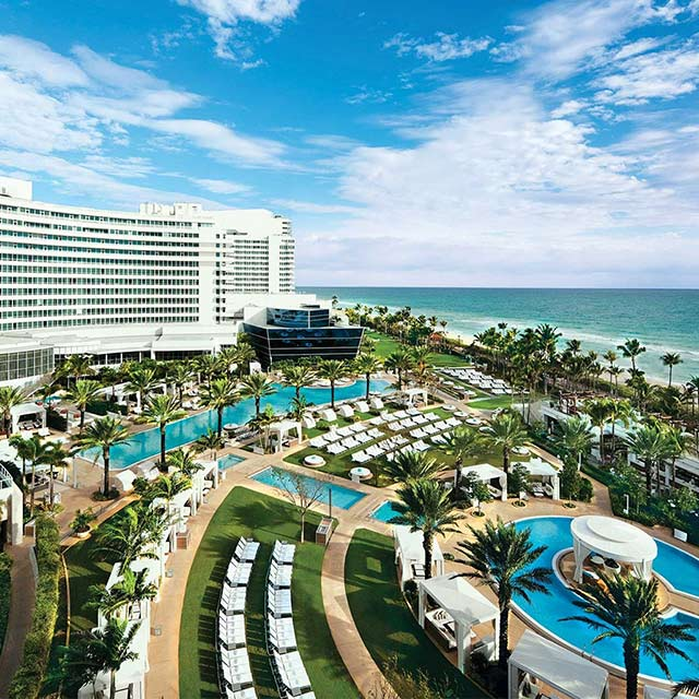 Fontainebleau, Miami, Landmark, Design, Music
